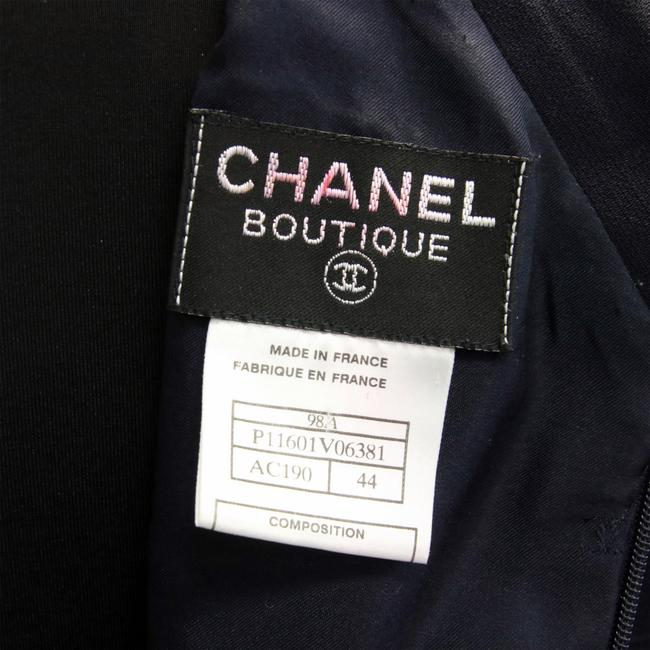 Chanel Lambskin Runway Casual Cc Dress