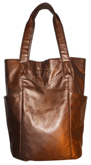 Preload https://img-static.tradesy.com/item/10174783/nicole-faux-leather-antique-gold-man-made-tote-0-1-540-540.jpg