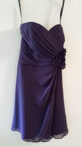 Alfred Angelo Eggplant 7180s Dress