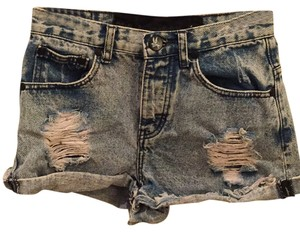 One Teaspoon Cut Off Shorts Distressed jean