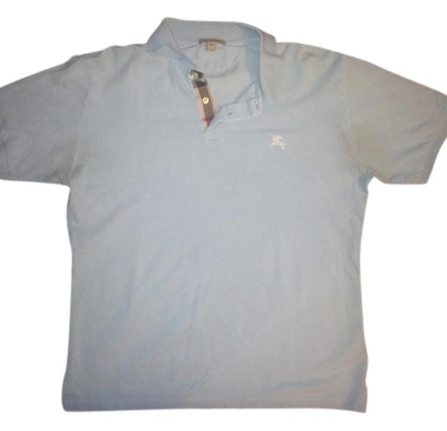 Preload https://item3.tradesy.com/images/burberry-sky-blue-brit-polo-shirt-button-down-top-size-8-m-10175227-0-1.jpg?width=400&height=650