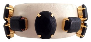 """Angelo Figus Elegant Leather Covered Bracelet, Featured In """"instyle"""" Mag"""