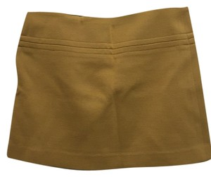 Theory Mini Skirt Mustard