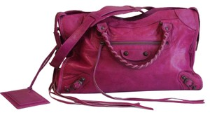 Balenciaga Satchel in Pink City Satchel