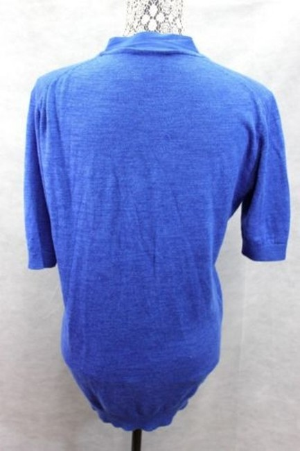 DKNY Knit Royal Top BLUE