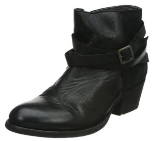 H by Hudson Leather Black Boots