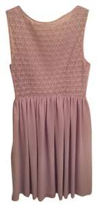 American Apparel Edgy See-through Lace Dress