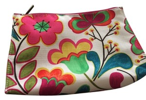 Clinique NEW Clinique Cosmetic Bag Flower Print