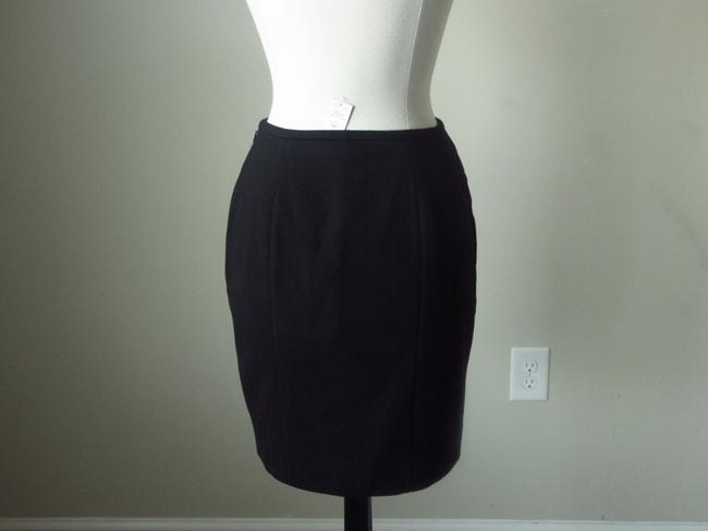 White House | Black Market Pencil Asymmetrical Striped Skirt