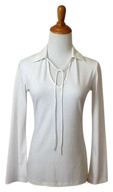 Preload https://item4.tradesy.com/images/new-york-and-company-white-blouse-size-2-xs-1017768-0-0.jpg?width=400&height=650
