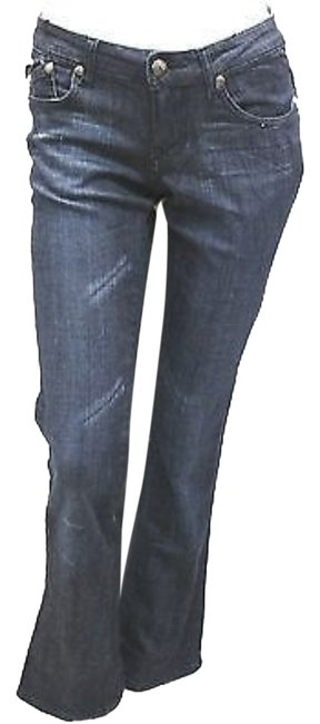 Rock & Republic Cotton Denim Straight Leg Jeans-Medium Wash Image 0