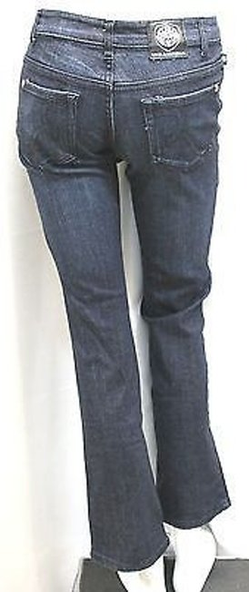 Rock & Republic Cotton Denim Straight Leg Jeans-Medium Wash Image 2