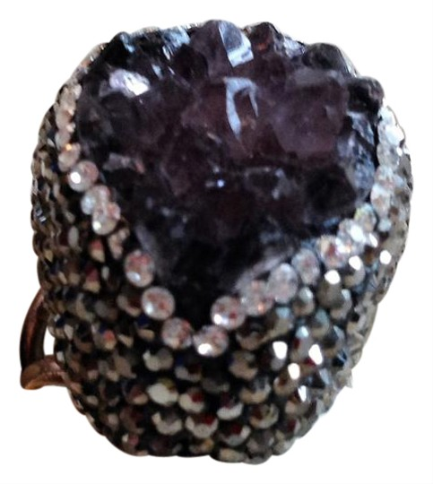 Other Amethyst Drusy ring Image 1