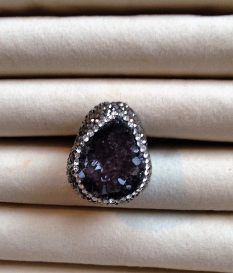 Other Amethyst Drusy ring Image 10