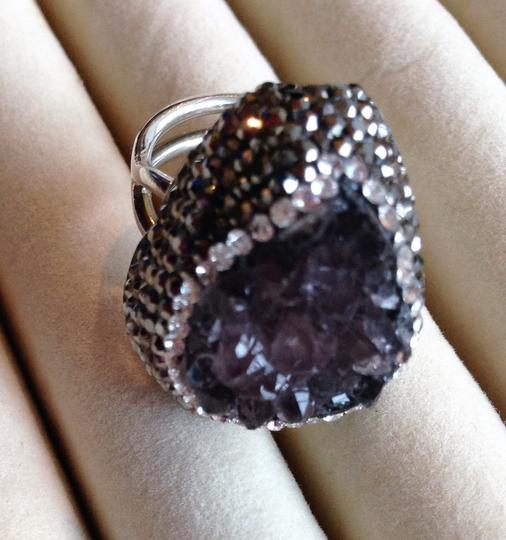 Other Amethyst Drusy ring Image 2