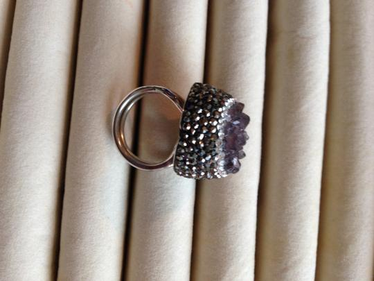 Other Amethyst Drusy ring Image 5