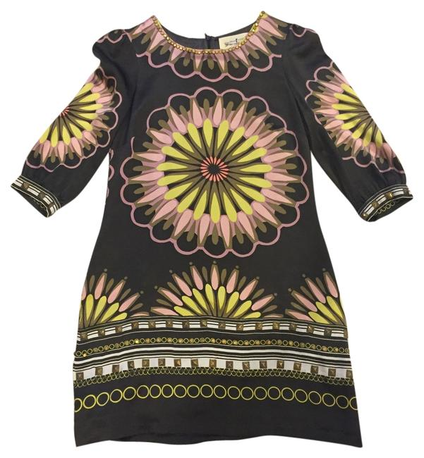 Preload https://img-static.tradesy.com/item/10178299/trelise-cooper-brown-print-above-knee-night-out-dress-size-8-m-0-1-650-650.jpg
