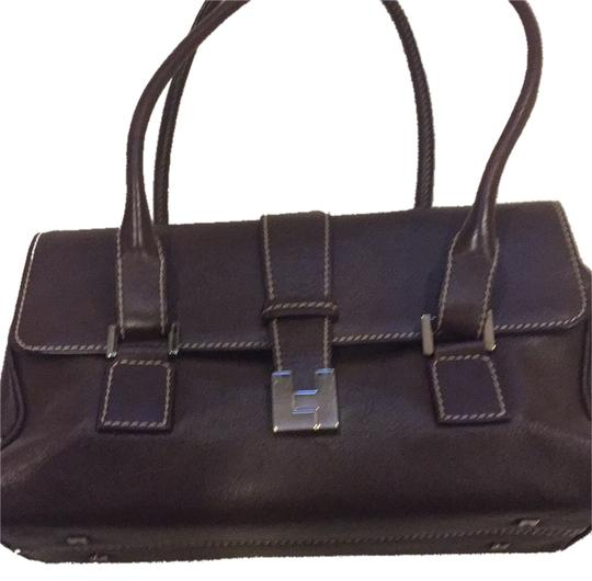 Lambertson Truex Satchel in Brown