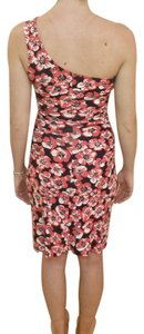 Lilly Pulitzer short dress MULTI One Shoulder Island Coral on Tradesy