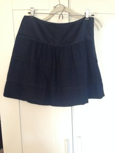 Diane von Furstenberg Furstenburg Dvf Mini Skirt Navy blue