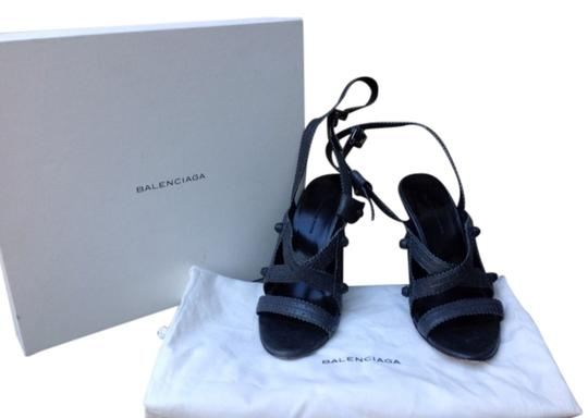 Balenciaga Grey Sandals