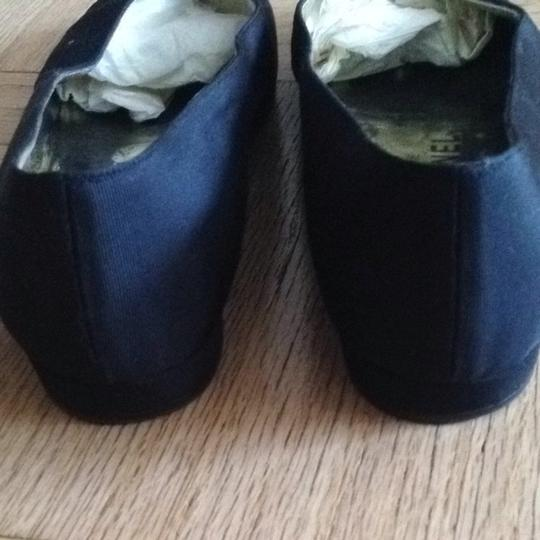 Chanel Vintage Black And White Flats