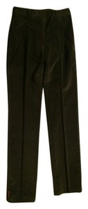 Prada Straight Pants Dark green