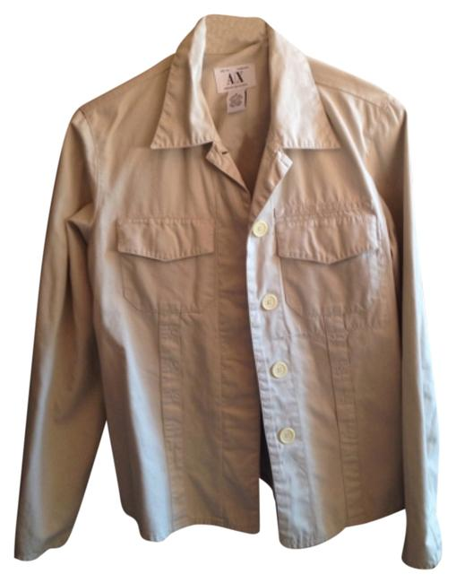Preload https://item1.tradesy.com/images/armani-jeans-baige-spring-jacket-size-8-m-10180660-0-1.jpg?width=400&height=650