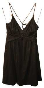 Express Halter Shimmery Dress
