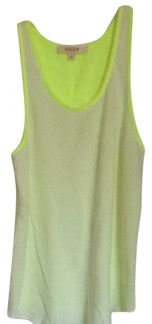 Preload https://item3.tradesy.com/images/solow-white-neon-green-tank-topcami-size-4-s-1018077-0-0.jpg?width=400&height=650