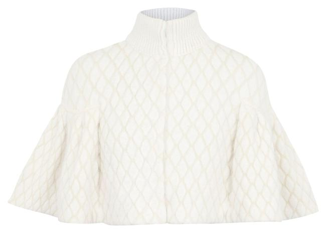 Preload https://item2.tradesy.com/images/alexander-mcqueen-white-ponchocape-size-4-s-10180801-0-1.jpg?width=400&height=650