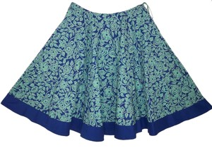 Anthropologie Cotton Full Skirt