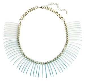 Leith Leith 'Ombre Dragon' Collar Necklace Blue