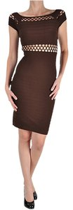 short dress Brown Seamless Sexy on Tradesy