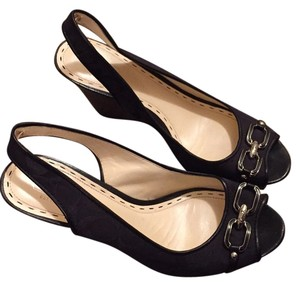 Coach Blac Wedges