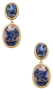 Kenneth Jay Lane Kenneth Jay Lane Sodalite Earrings