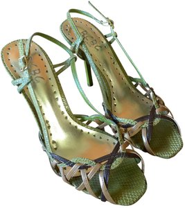 BCBG Paris lime green Sandals