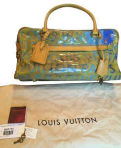 e510d76c8e98 Louis Vuitton Defile Pulp Mm Yellow Denim Travel Bag