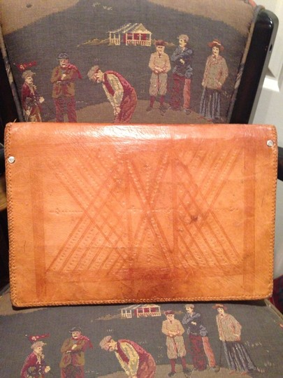 Other Handtooled Leather Brief ATACHE