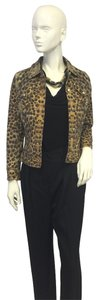 Escada Animal Print Jacket