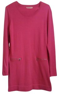 Michael Kors short dress pink on Tradesy