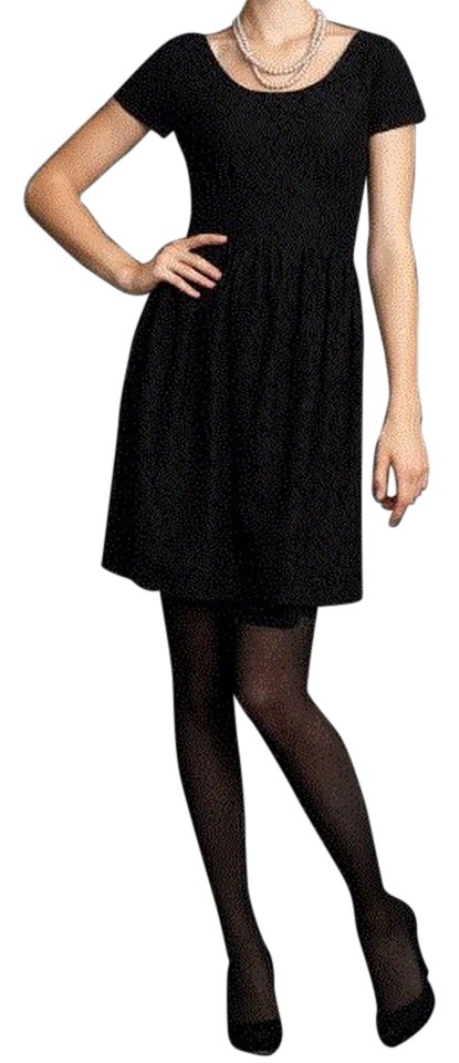 Banana Republic Black Mad Men Collection Lace Sleeve Above Knee