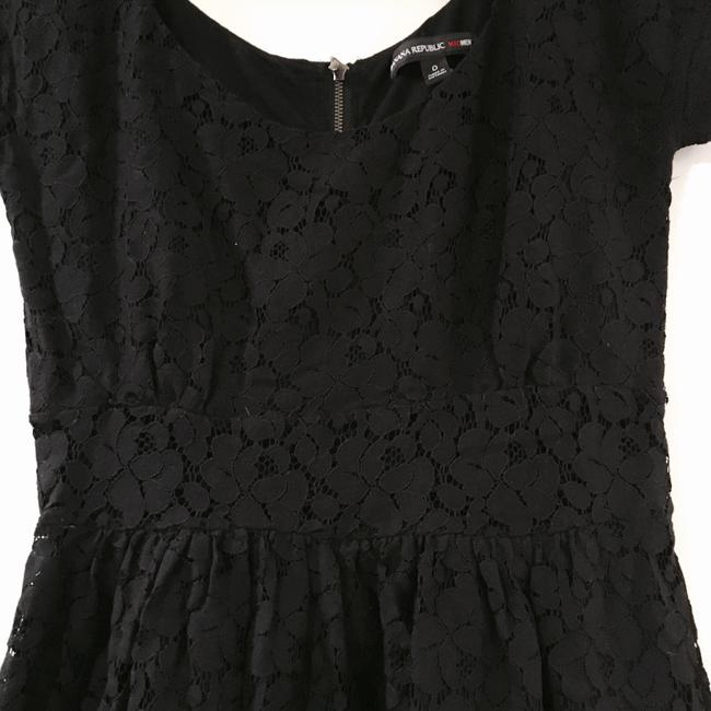 Banana Republic short dress Black Limited Limited Edition Lace Structured on Tradesy