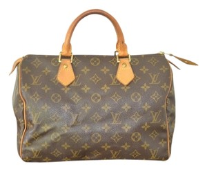 Louis Vuitton Monogram Brown Clutch