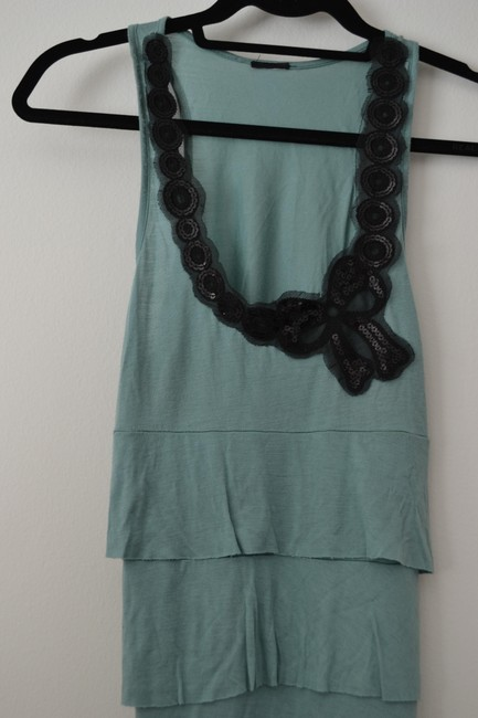 Other Sequin Top Mint green
