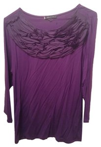 Anne Klein Top Purple