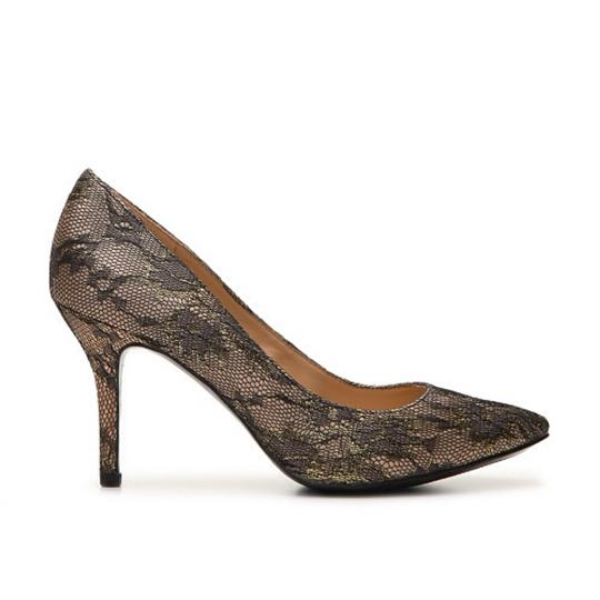 Enzo Angiolini Black and silver Pumps