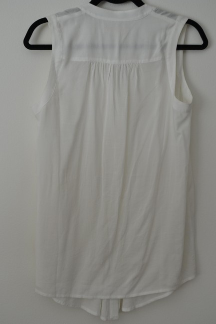 Anthropologie Swing Summer Casual Tunic Tank Top White
