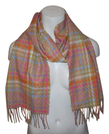 Preload https://item2.tradesy.com/images/tan-multi-color-cashmere-scarfwrap-10186711-0-1.jpg?width=440&height=440