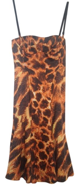 Preload https://img-static.tradesy.com/item/10187302/just-cavalli-jaguar-animal-print-sexy-holiday-mermaid-knee-length-cocktail-dress-size-6-s-0-1-650-650.jpg